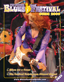 2009 Blues Festival Guide magazine