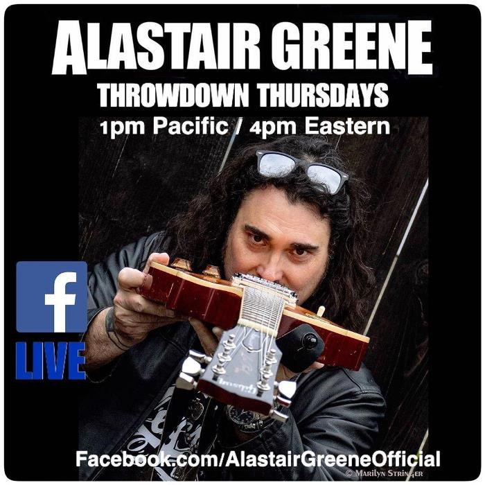 Alastair Greene's Throwdown Thursdays