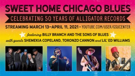 ALLIGATOR RECORDS 50th ANNIVERSARY STREAMING CONCERT