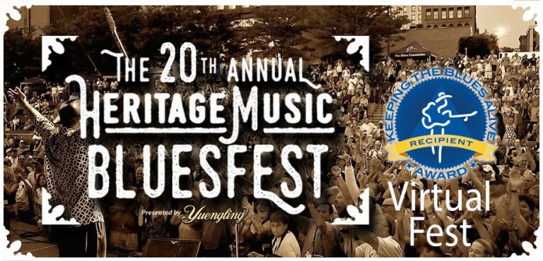 Heritage Music Bluesfest-VIRTUAL