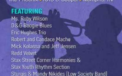 """Mr. Handy's Blues"" Benefit Concert in Memphis Saturday April 5, 2014"