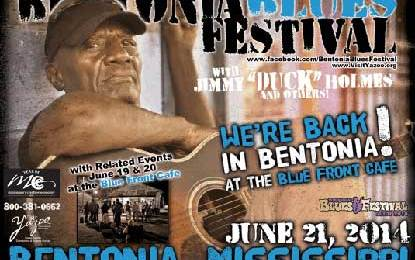 Back in Bentonia at the Blue Front Cafe – Bentonia Blues Festival 42nd Anniversary June 21