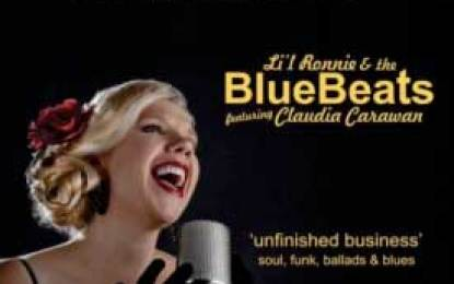 Lil' Ronnie & The BlueBeats featuring Claudia Carawan :: Unfinished  Business