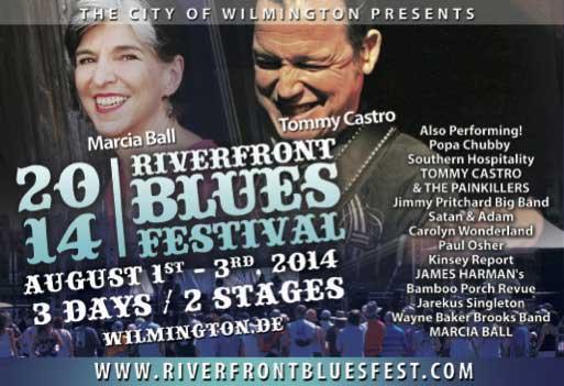 The Riverfront Blues Festival