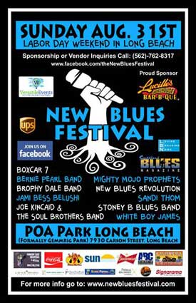 1st Annual New Blues Festival