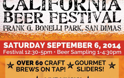 California Beer Festival Coming to San Dimas
