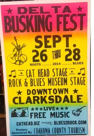 Clarksdale's Delta 2nd Busking Festival