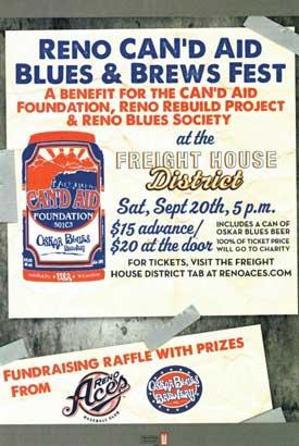 Reno CAN'd Aid Blues & Brews Fest