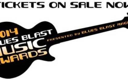 2014 Blues Blast Music Award Ceremony Oct 23
