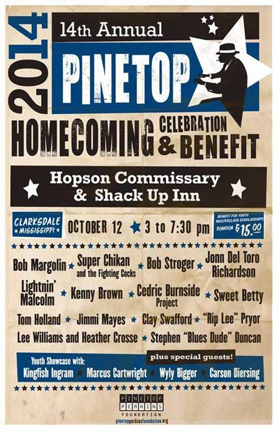 Pinetop Perkins Annual Homecoming Celebration