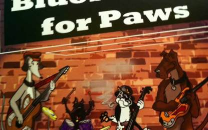Mar 1st Blues Cause for Paws to benefit homeless animals