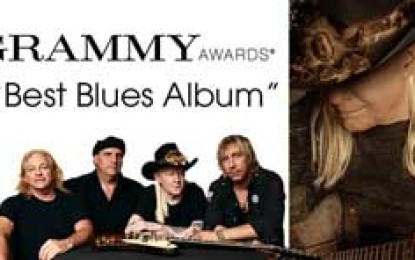 Step Back by Johnny Winter Takes 57th Blues Grammy