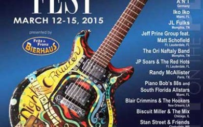 Time for the Blues Mar 12-15 in Coral Gables Florida!