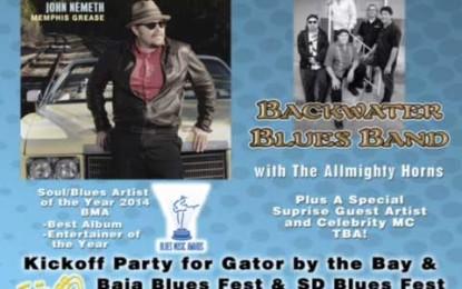John Nemeth Band helps kick off upcoming Southern California and Baja festival