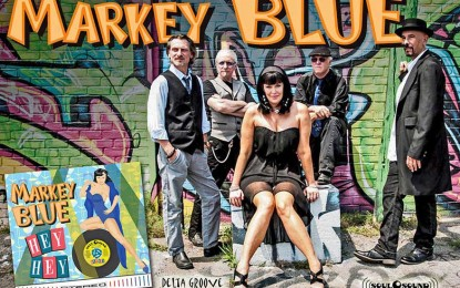 It's not even a year since Markey Blue's Hey Hey was released at #1 on Debut Blues Chart
