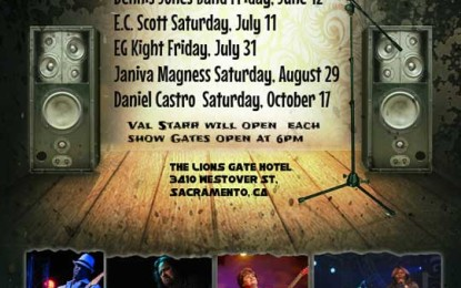 Val Starr's Blues On The Patio 2015 returns to Sacramento, CA with a great lineup!