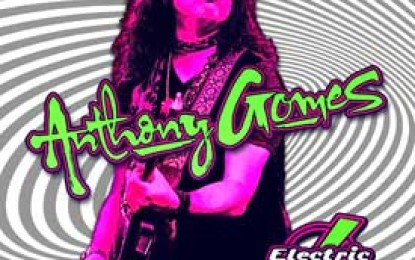 Anthony Gomes :: ELECTRIC FIELD HOLLER