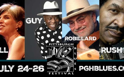 2015 Pittsburgh Blues Festival Announces World-class Lineup July 24-26