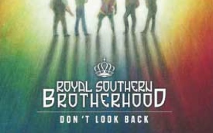 Royal Southern Brotherhood ::  DON'T LOOK BACK: THE MUSCLE SHOALS SESSIONS
