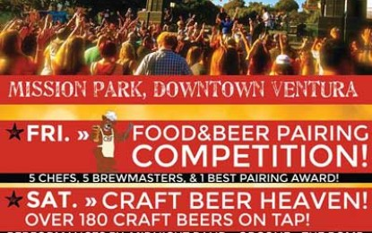 "California Beer Festival ""Brews & Blues"" – Coming To Ventura, California, Sunday, September 20!"