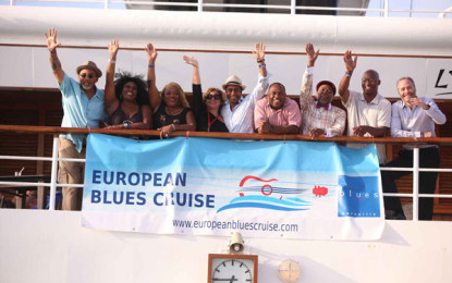Great music and good times at the second ever European Blues Cruise