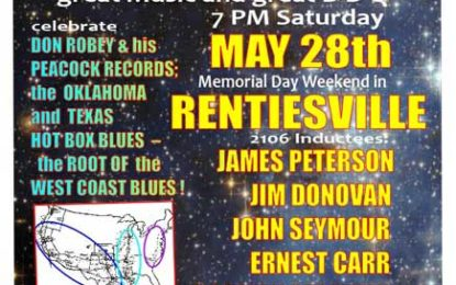 Oklahoma Blues Hall of Fame Inductions & Concert May 28th