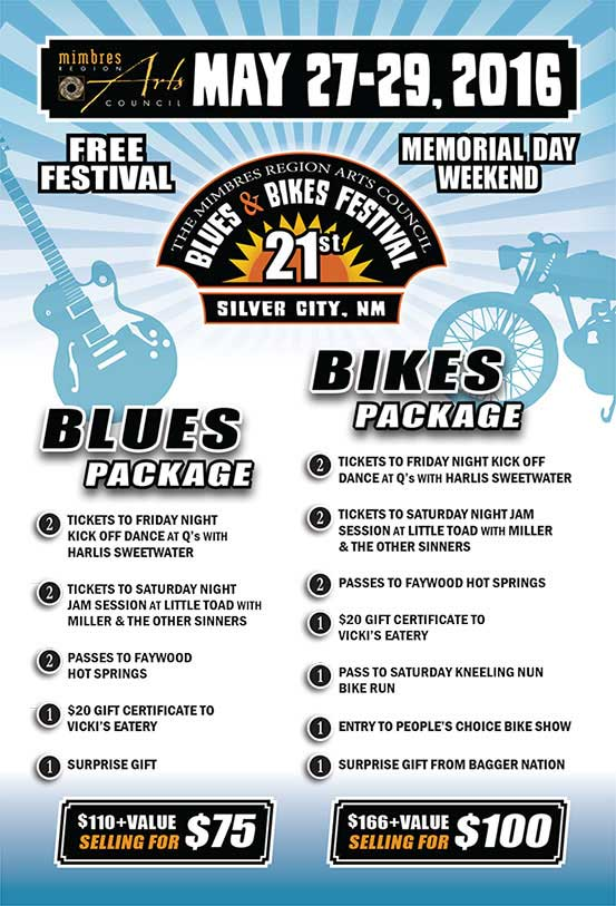 Silver City Blues & Bikes Festival