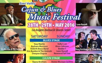 It's Here… the Simi Valley Cajun & Blues Music Festival May 28-29
