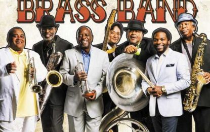 This Saturday, July 30 The Dirty Dozen Brass Band at Uptown Theatre Napa