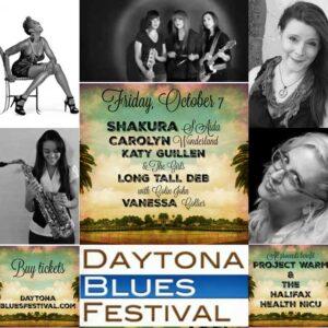 Daytona Blues Festival Friday Lineup