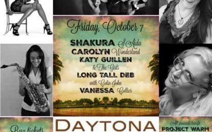 Women in blues will open the Daytona Blues Festival Friday, October 7
