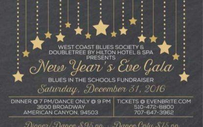 West Coast Blues Society's New Year's Eve Celebration 2016