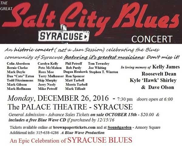 Great Salt City Blues Concert