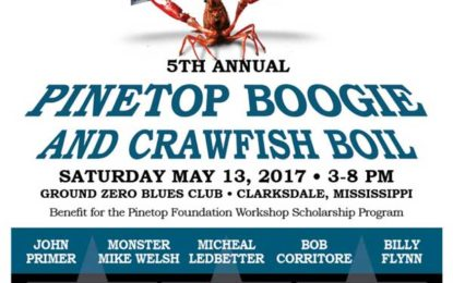 5th Annual Pinetop Boogie and Crawfish Boil May 13 benefits scholarship program