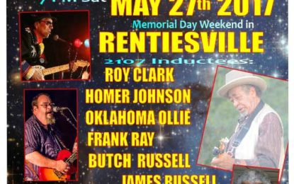 Celebration of Oklahoma's Blues Tradition May 27th in Rentiesville