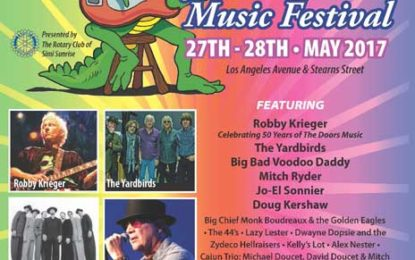 Memorial Day Weekend it's the 28th annual Simi Valley Cajun & Blues Music Festival