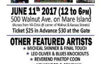 West Coast Blues Society BBQ & Wine Fundraiser, June 11, 2017