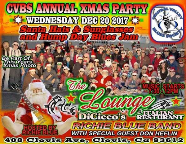 CVBS Santa Hats & Sunglasses Annual Xmas Party