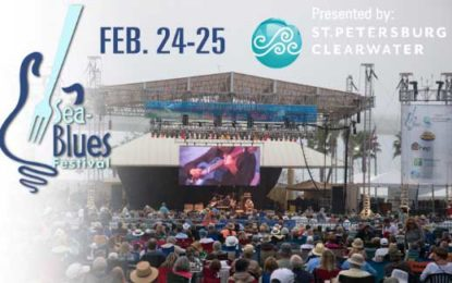 This Weekend is Florida's Clearwater Sea-Blues Festival