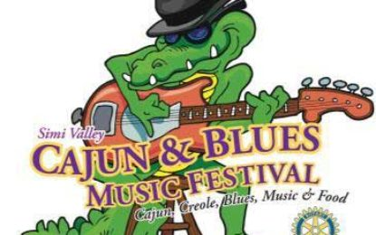 May 26-May 27 it's the 29th Annual Simi Valley Cajun & Blues Music Festival