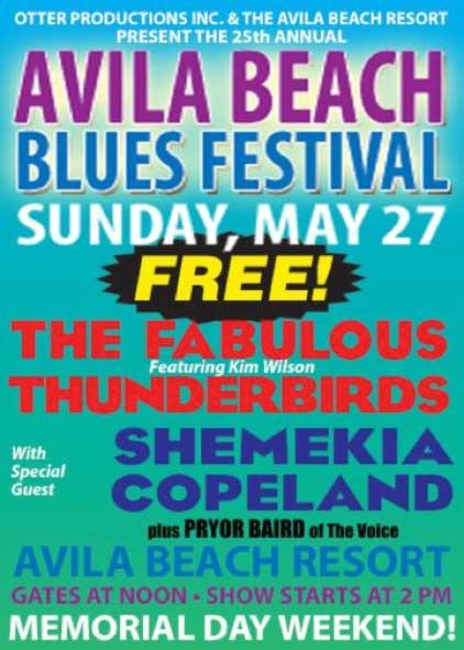 Avila Beach Blues Festival
