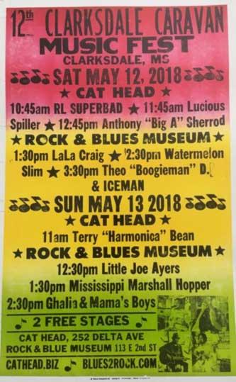 Clarksdale Caravan Music Festival