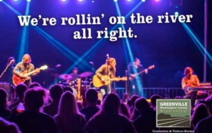 Greenville-Washington County is rollin' on the river all right