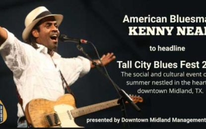 Tall City Blues Fest is Signature event for Downtown Midland, TX