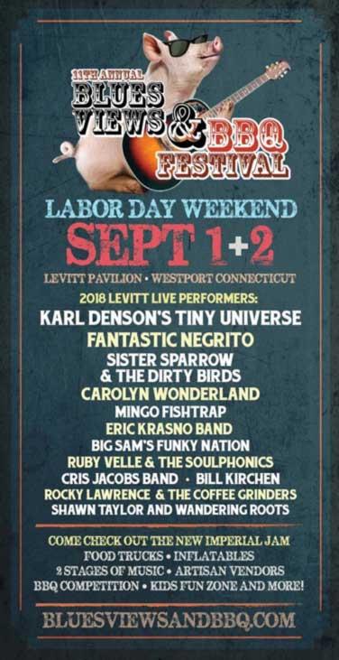 Blues Views & BBQ Festival