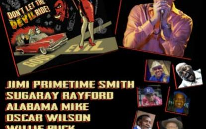 Blues Spectacular This Saturday at The Rhythm Room Sept 22