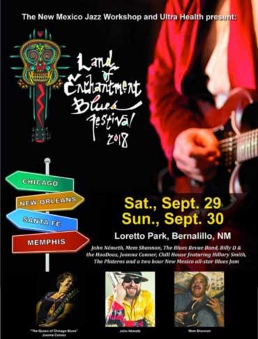 Land of Enchantment Blues Festival
