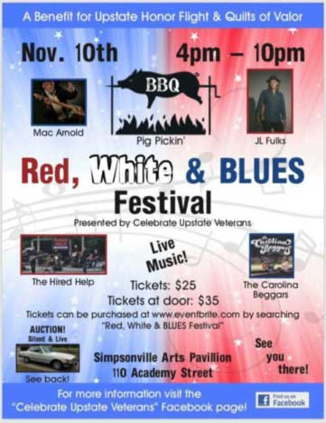 Red, White and Blues Festival