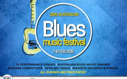 2019 Australian Blues Music Festival Feb 7-10