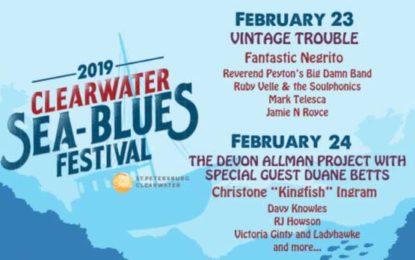 Clearwater Sea-Blues Festival Feb 23-24